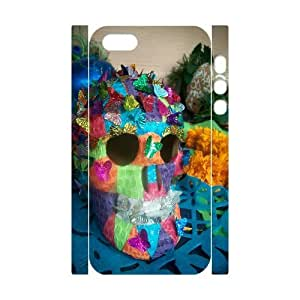 C-Y-F-CASE DIY Color Skull Pattern Phone Case for iPhone 5,5S by lolosakes