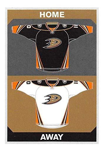 2015-16 Panini Stickers #234 Ducks Home/Away Jerseys Anaheim Ducks