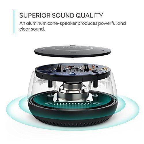 Eufy Genie Smart Speaker With Amazon Alexa, Voice Control and Hands-Free Use, Stream Online Music (Spotify, Amazon Music, Pandora, Sirius XM), Wifi Speaker, Smart Home Control, AUX Output, Black