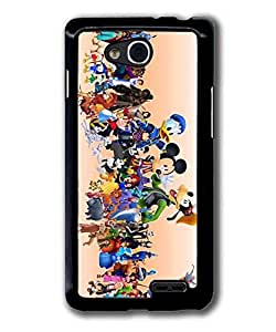 LG L90 Case Cover Disney Character Mirror Hard Snap On Protector Back
