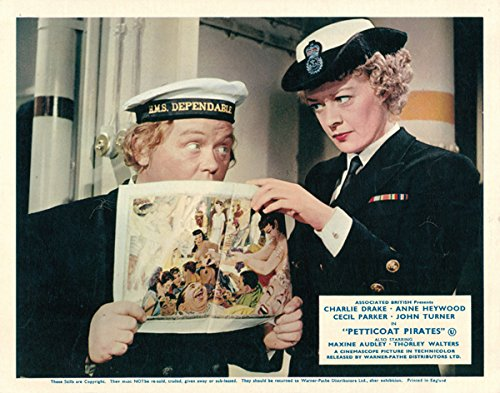 Petticoat Pirates Imaginative British Lobby Card Charlie Drake Eleanor Summerfield