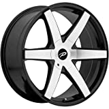 2002 buick lesabre rims - Pacer Ovation 18 Machined Black Wheel / Rim 5x110 & 5x115 with a 42mm Offset and a 73 Hub Bore. Partnumber 785MB-8754342