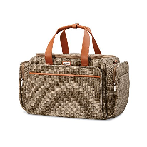 Hartmann Leather Duffel - Hartmann 105168-4652 Duffel Bag, Natural Tweed, One Size