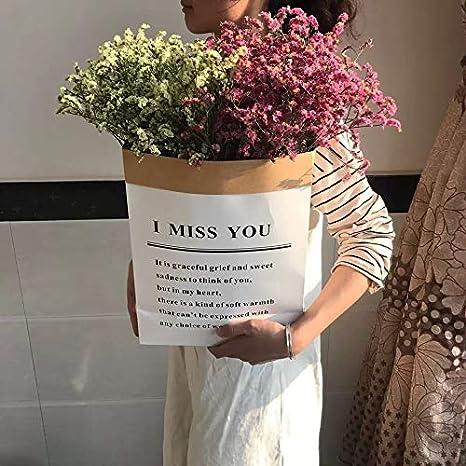 Amazon インクリエイティブアーツが花束茶色の紙袋を卒業し 装飾的な装飾品リビングルームには 忘れ Meが乾燥した花の花束を Color Bouquet 12 Size A Bunch ドライフラワー オンライン通販