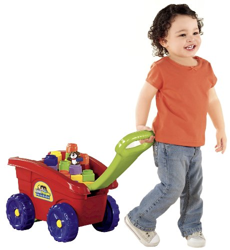 Little People Builders - Fisher-Price Little People Builders Load 'N Go Wagon