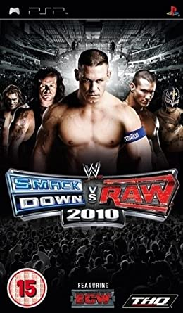 WWE SmackDown Vs RAW 2010 EUR PSP ISO Free Download