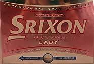 Srixon Soft Feel Ladies Golf Balls (6 balls)