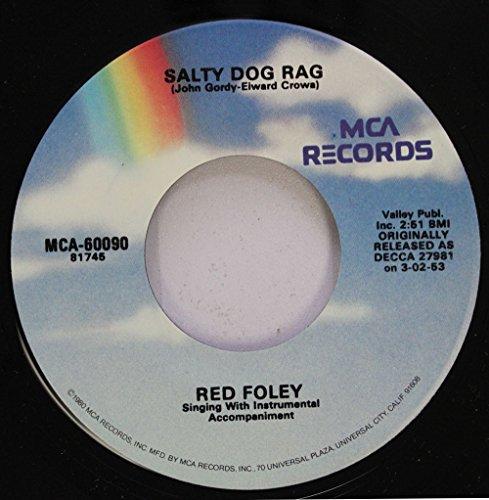 Boogie Bucket (RED FOLEY 45 RPM SALTY DOG RAG / MILK BUCKET BOOGIE)