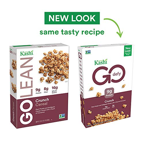 Kashi GO Crunch Breakfast Cereal - Non-GMO | Vegetarian | 21.3 Oz -