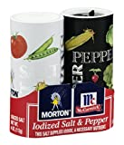Morton McCormick Iodized Salt & Pepper, 5.25 OZ (Pack of 12)