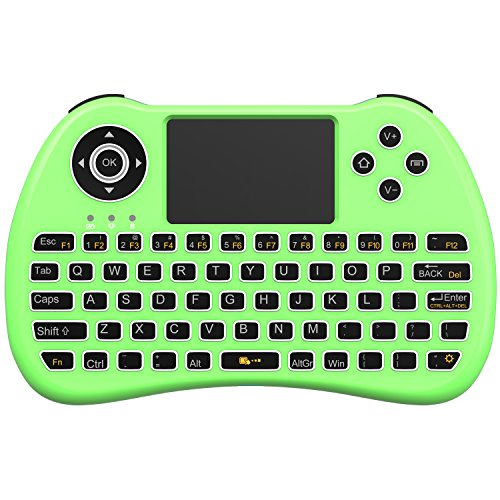 Green Kitchen App Android: Aerb Backlit 2.4GHz Wireless Mini Keyboard H9 Pro, Mouse