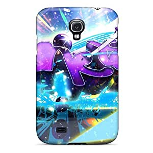 DaMMeke DckQTeB3411liyRb Protective Case For Galaxy S4(blast Of Art)