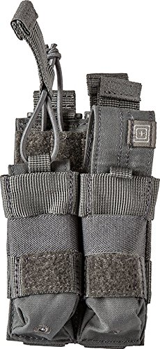 5.11 Tactical Double Pistol Bungee Cover, Slick Stick MOLLE Compatible, Waterproof, Style 56155