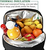 Large Capacity Insulated Picnic Backpack Bag for 4