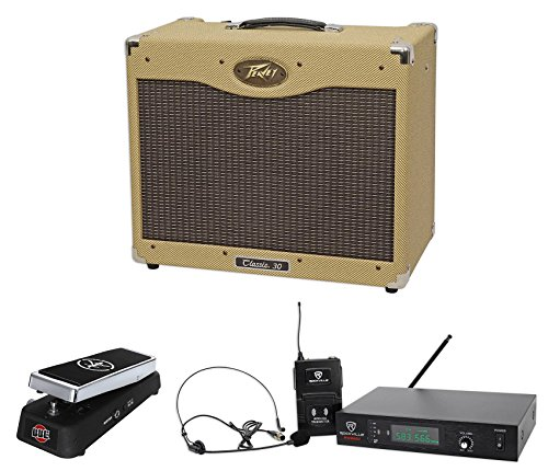 Peavey Classic 30 112 30w Tube Guitar Amplifier+Wah Pedal+Wireless Microphone