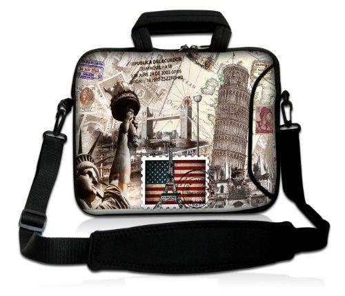 Sofia Tower 13 Laptop Bag Carry Case w.Pocket,Shoulder St...