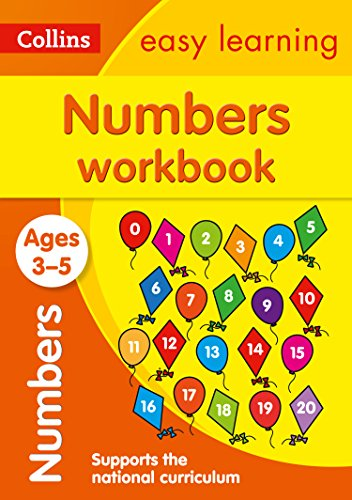 Numbers Workbook: Ages 3-5 (Collins Easy Learning Preschool)