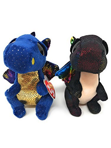 Ty Beanie Boos Set Of 2  Saffire The Dragon And Anora The Dragon