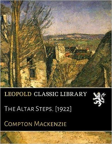 The Altar Steps. [1922]