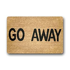 Go Away Doormat Non Slip Floor Mat Durable Non