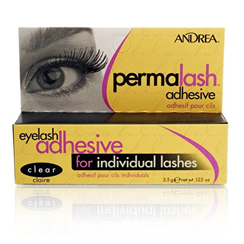 d499c520ec7 Amazon.com : Andrea Lash Adhesive Perma Lash Adhesive for Individual Lashes  : Fake Eyelashes And Adhesives : Beauty