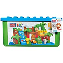 Fisher-Price (Fisher Price) Mega block exciting safari Deluxe set 101 pieces from 1-year-old DCL33