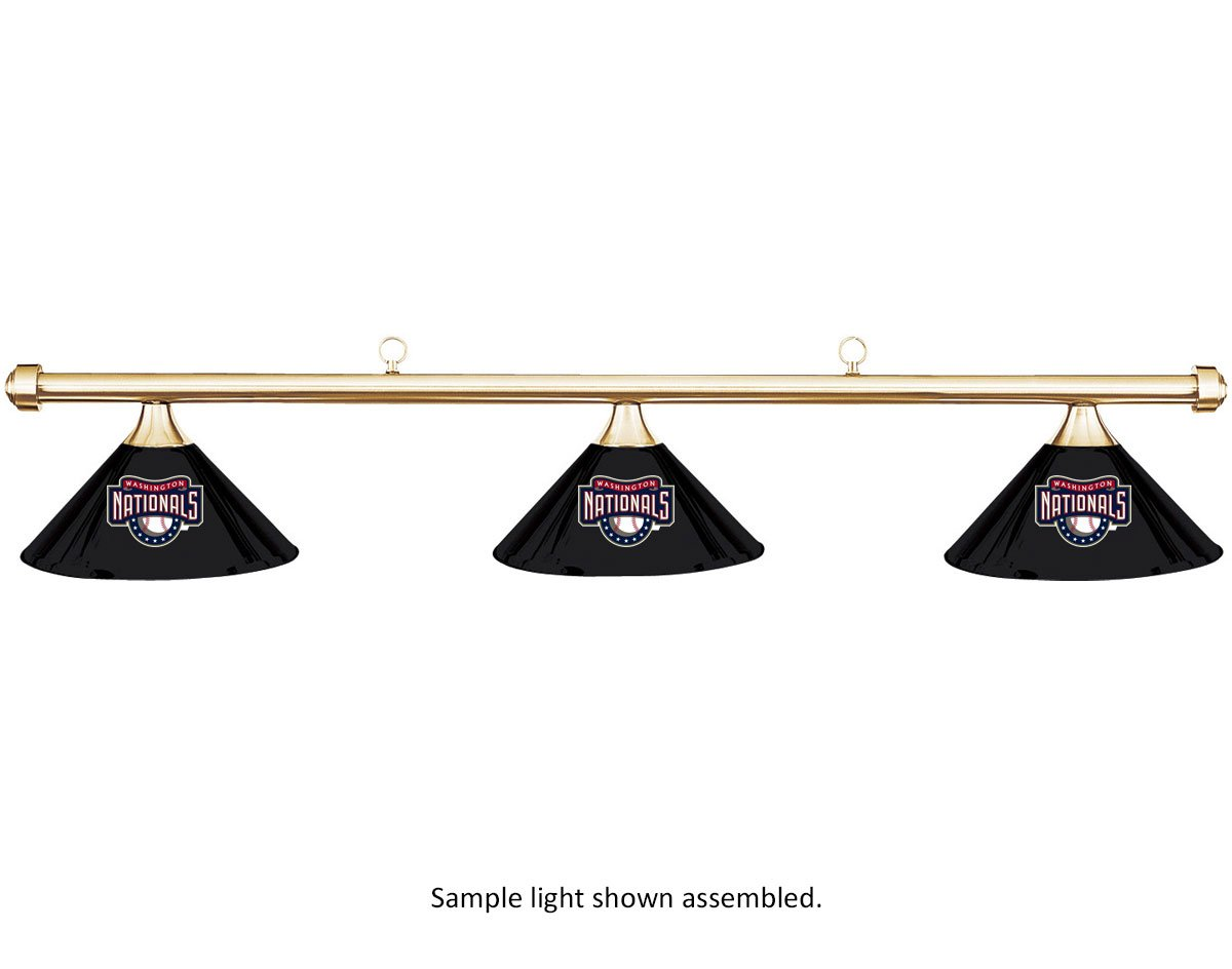 Imperial B01KABGAAW MLB ワシントンナショナルズ ブラックメタルシェード Imperial MLB 真鍮バービリヤードプールテーブルライト B01KABGAAW, きものSHOP えりしょう:8f55d33b --- gamenavi.club