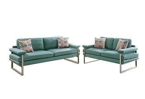 Amazon.com: Benzara bm168698 polifibra de mullido sofá con ...