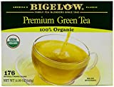 Bigelow Premium 100-Percent Organic Green Tea 176-Count Box