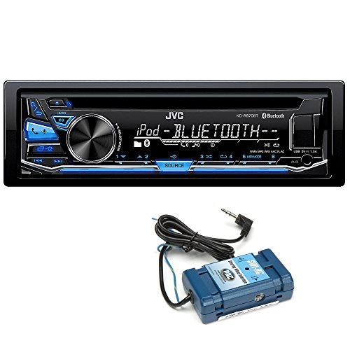 JVC KD-R870BT CD with Steering Wheel Control ()