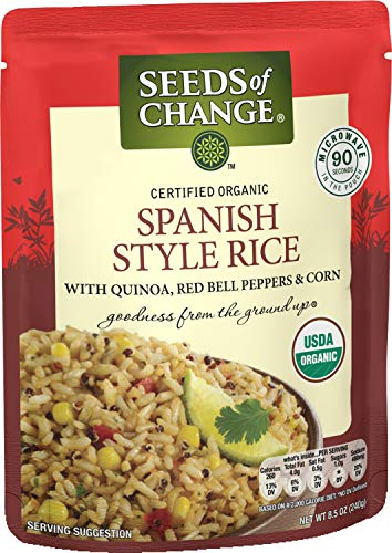 Seeds Of Change Organic Spanish Style Rice 8.5 Ounce (Pack of 6)