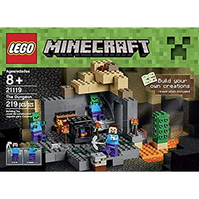 LEGO Minecraft The Dungeon (21119): Toys & Games