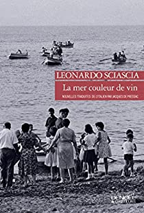 La mer couleur de vin par Sciascia