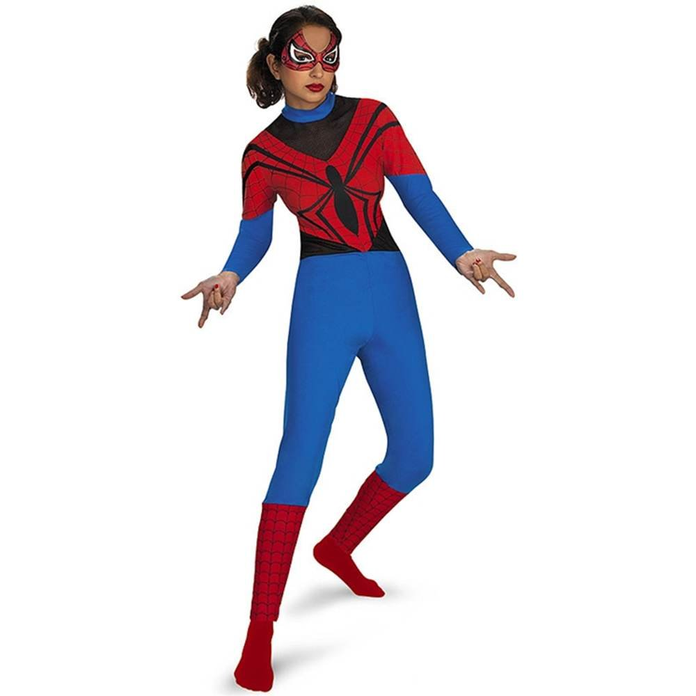 amazoncom spider girl black teen costume size 11 14 toys games - Spider Girl Halloween Costumes