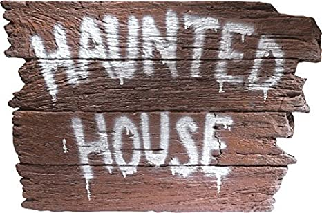 Rubies Costume Haunted House Wall Plaque Costume