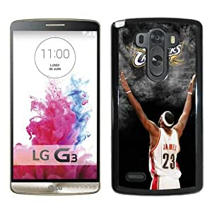 Cleveland Cavaliers Lebron James 3 Black Personalized Recommended Custom LG G3 Phone Case