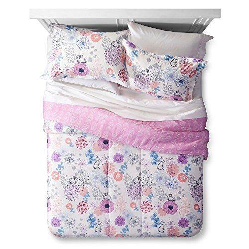 Lolli Living Girl s Pink Floral Reversible Bedding Comforter Bed Set (Twin dd4c053cd00b