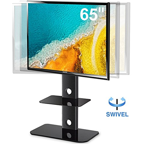 FITUEYES TV Stand with Swivel Mount for flat Screen LCD LED Plasma Floor tv Stand for 32-60