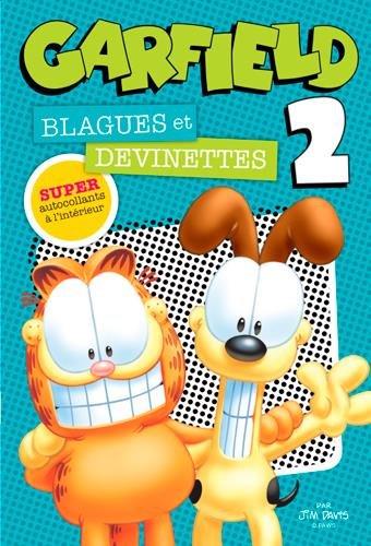 Garfield Blagues et devinettes : Tome 2 Broché – 4 novembre 2016 Jim Davis Presses Aventure 2897512709 Humour - magie