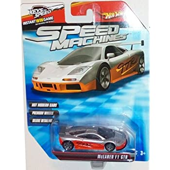 Hot Wheels Speed Machines McLaren F1 GTR RED 1:64 Scale