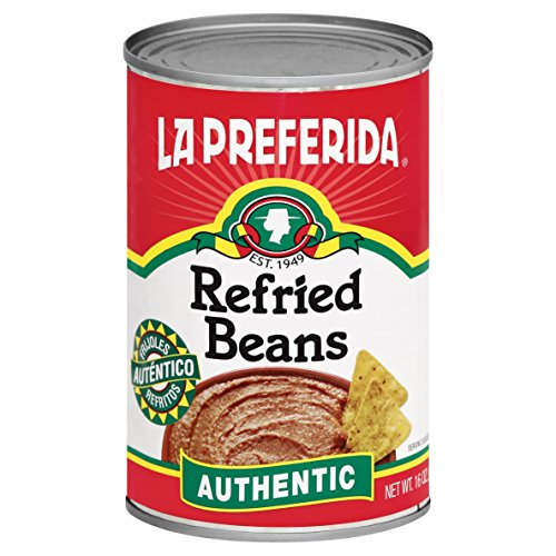 La Preferida Bean - La Preferida Refried Pinto Beans, Authentic, 16 oz (Pack of 6)