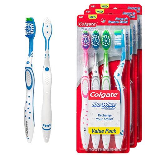 Colgate Toothbrushes Polishing Medium Bristles