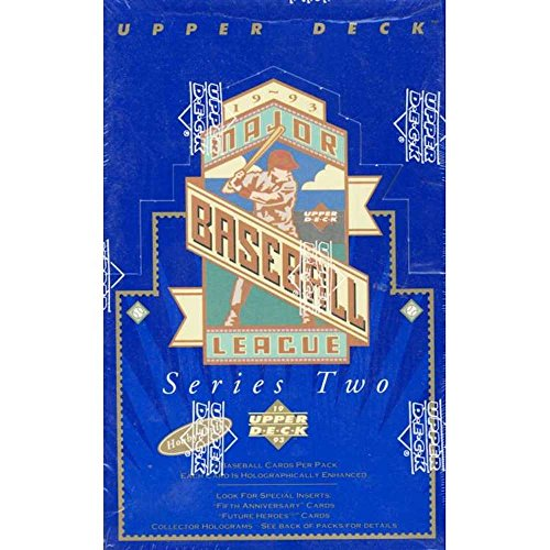 1993 Upper Deck Baseball Factory (1993 Upper Deck Series 2 Baseball Hobby Box)