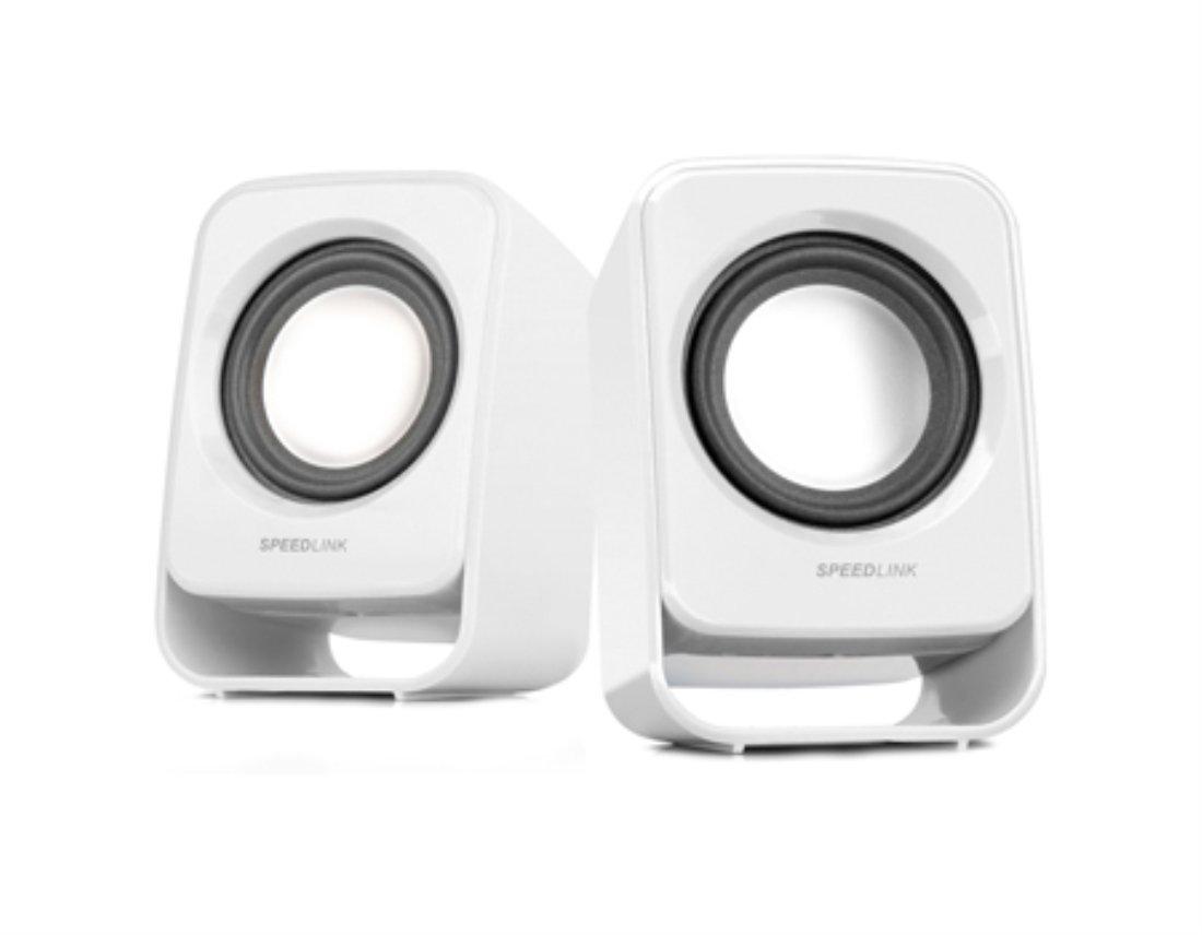 1 Watt RMS Ausgangsleistung, stufenloser Lautst/ärkeregler, USB Speedlink Snappy Aktiver-Lautsprecher berry