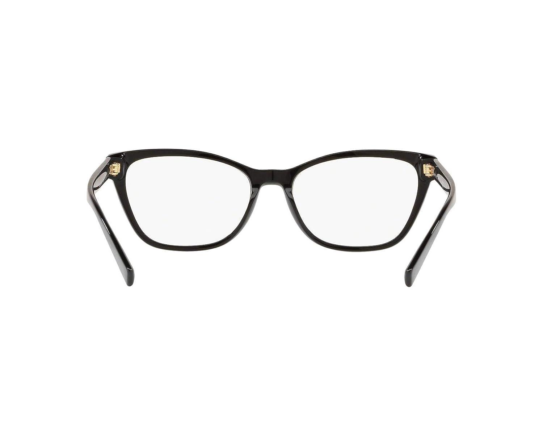 Black VE3265-GB1-54 Versace VE3265 Eyeglass Frames GB1-54