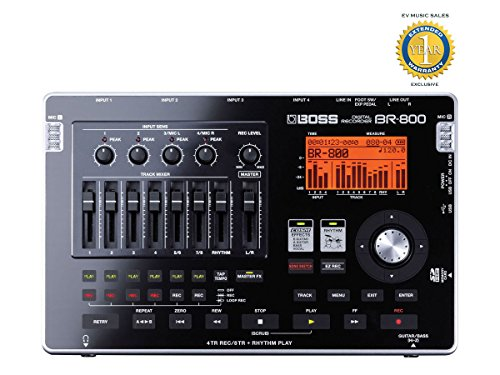 Boss BR-800 8-track Digital Recorder with 1 Year Free Extended Warranty