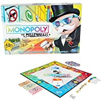 Monopoly for Millenials Board Game - for Children Ages 8+ -