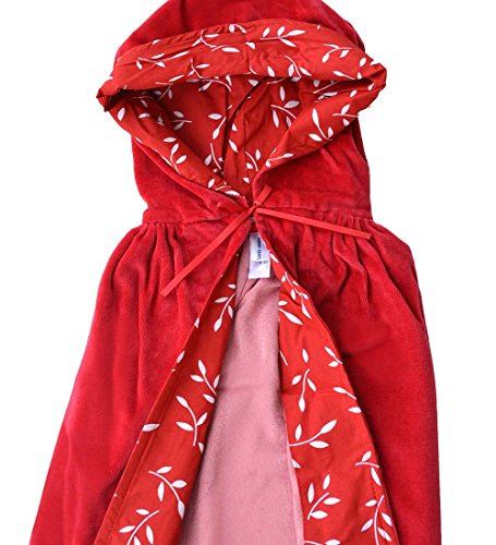 Classic Cloaks, Velour, 35'', in Little Red Riding Hood (Little Red Riding Hood Costume For Kids)