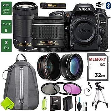 Amazon.com: Nikon D7500 - Cámara réflex digital con lentes ...