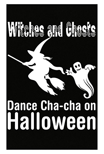 AttireOutfit Witches And Ghosts Dance Chacha On Halloween - Poster]()